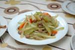 セロリピーナッツサラダ