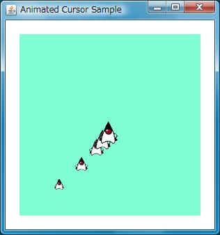 JavaFX Samples: Animated Cursor
